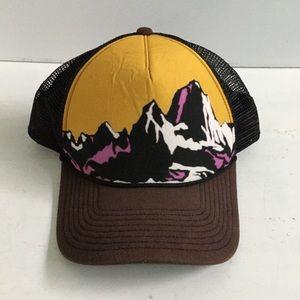 Patagonia Snap Back Baseball Cap Mustard Yellow